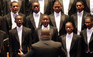MOREHOUSE COLLEGE GLEE CLUB COVERS quotWALK HUMBLY SONquot